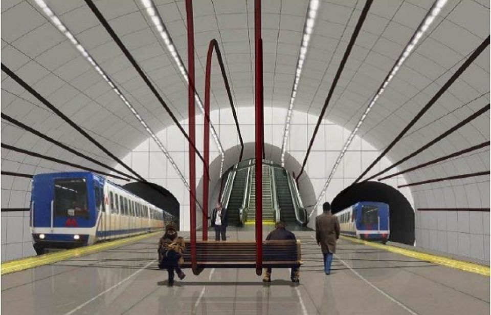 Tbilisi Metro. Extension of Line 2