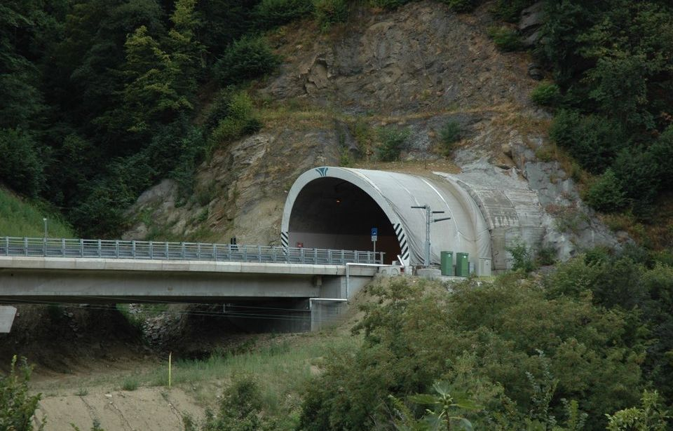 Porte bypass on National Road SS23 from Turin to Sestriere