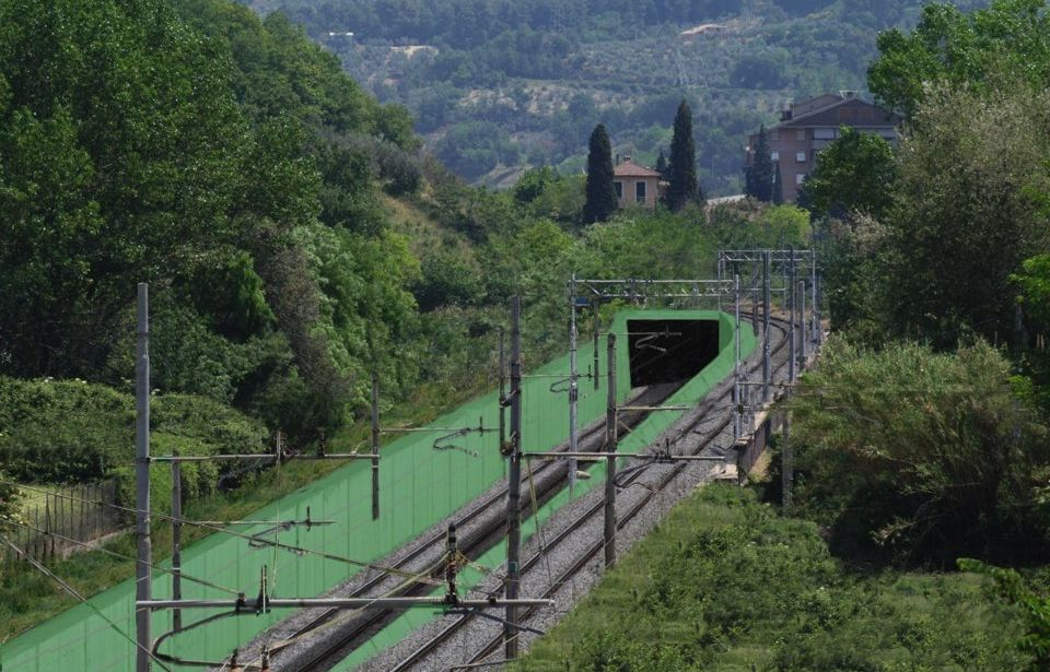 New rail link between Terni and Spoleto
